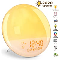 YISSVIC Wake Up Light Luces Despertador LED 20