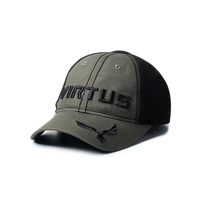 154f554f09df2 Amazon.com  VIRTUS Unisex - Tristan Hat Medium Large (Green)  Sports    Outdoors