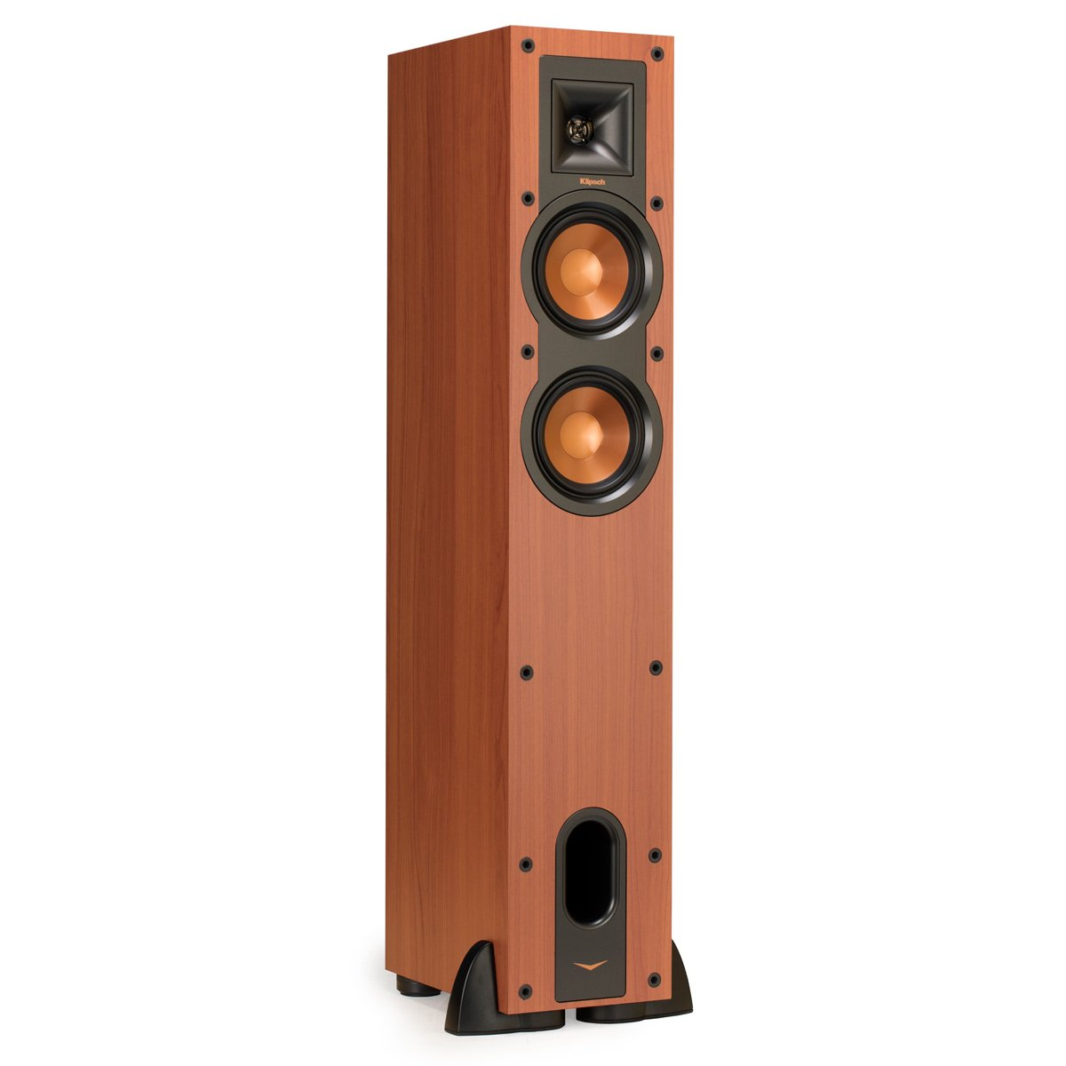 Klipsch R-24F Reference Floorstanding Speaker - Each (Cherry) by Klipsch