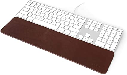 GRIFITI Slim Wrist Pad 17 4 x 17 muñeca Resto para Apple Mac Mini Teclado inalámbrico y Magic TrackPad o con Cable USB Teclado, Anker, Macally, ...