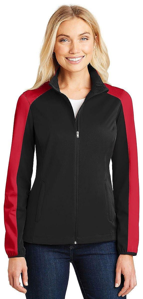 Port Authority Ladies Active Colorblock Soft Shell Jacket-L718-S
