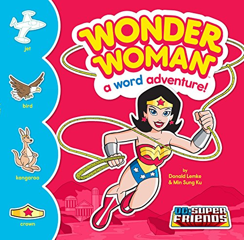 Wonder Woman: A Word Adventure! (DC Super Friends Word Adventures) (Wonder Woman Boots)
