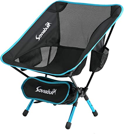 Portable Lightweight Foldable Camping Chair Outdoor Hiking Backpacking Tools