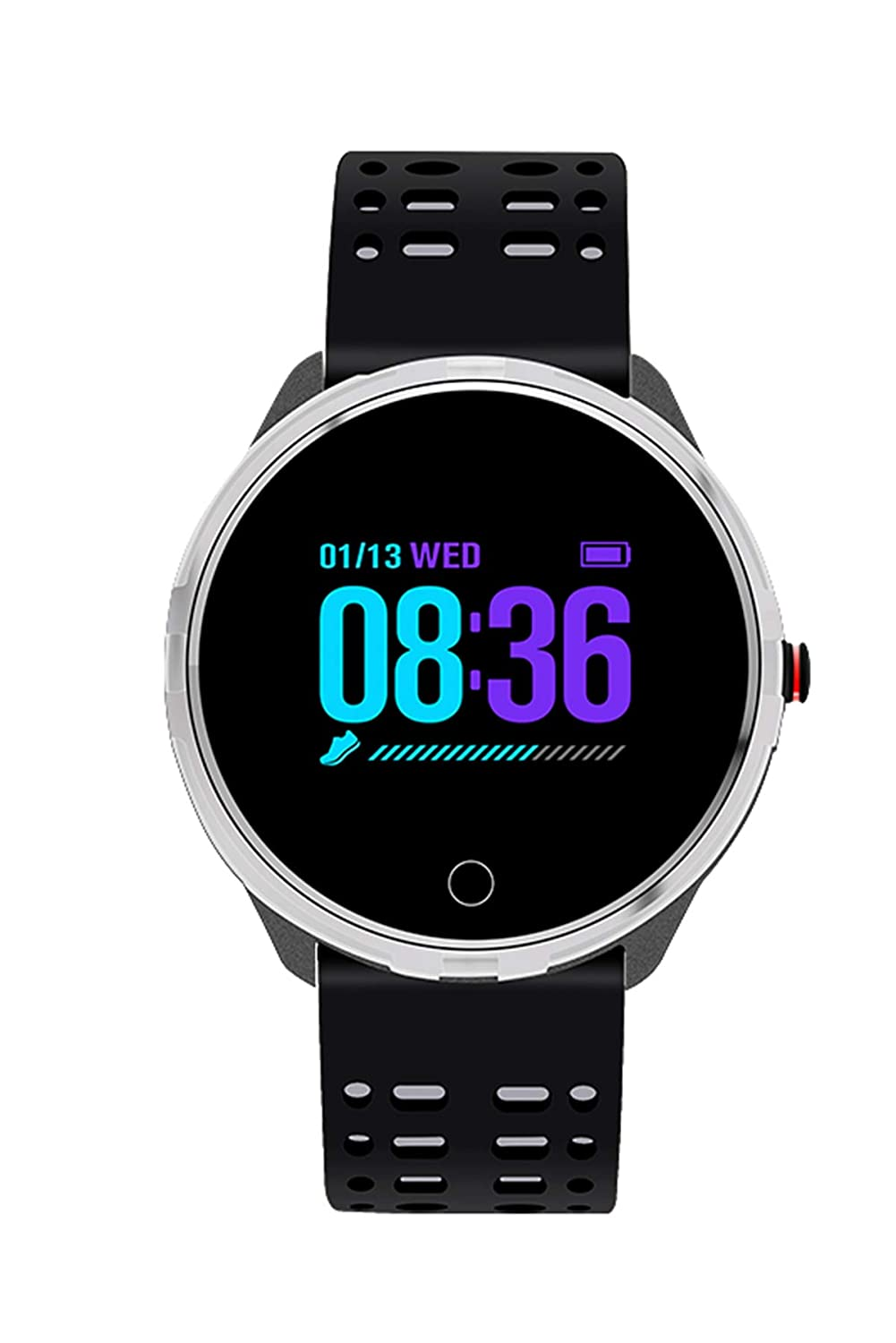 Amazon.com: Smart Watch Bluetooth IP68 Waterproof Fitness ...