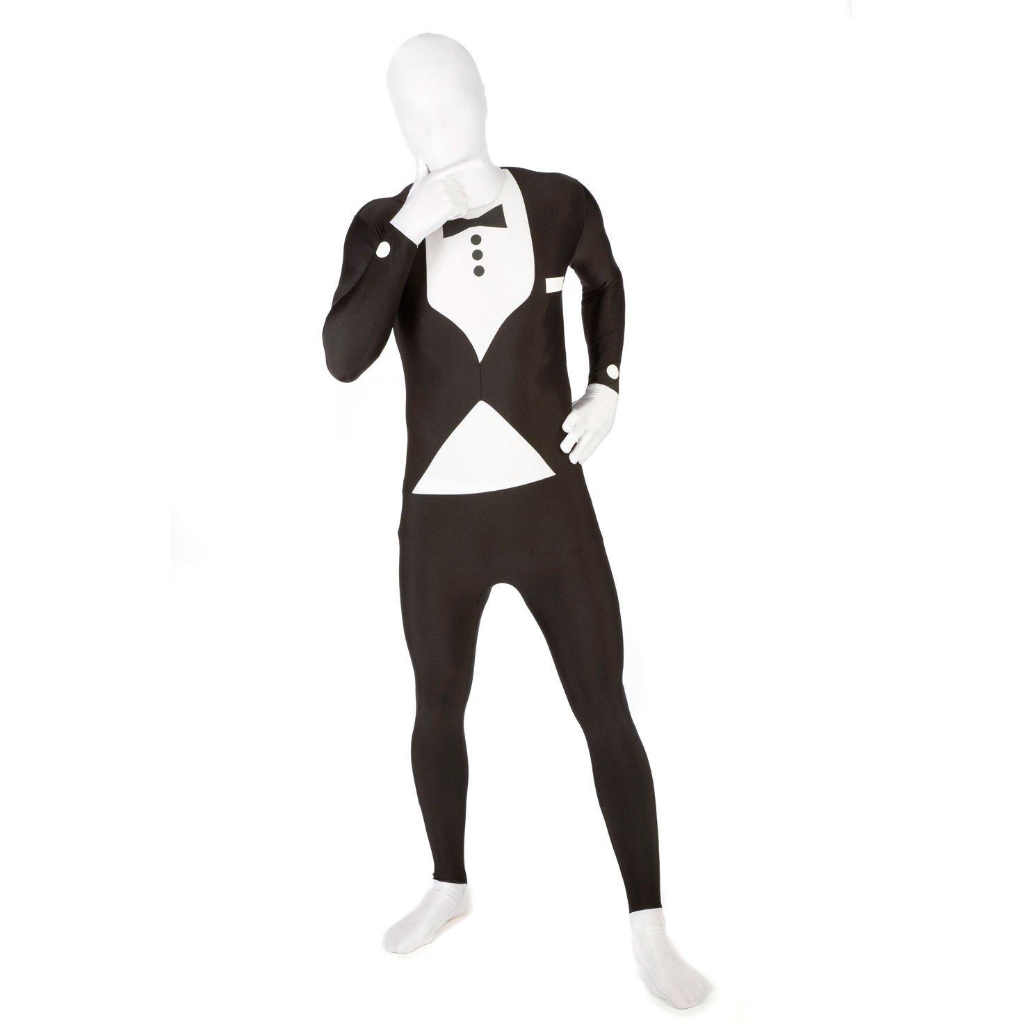 Seconde peau morphsuit /™ rouge taille m 5-54 CS97056//M 152cm-163cm Morphsuits
