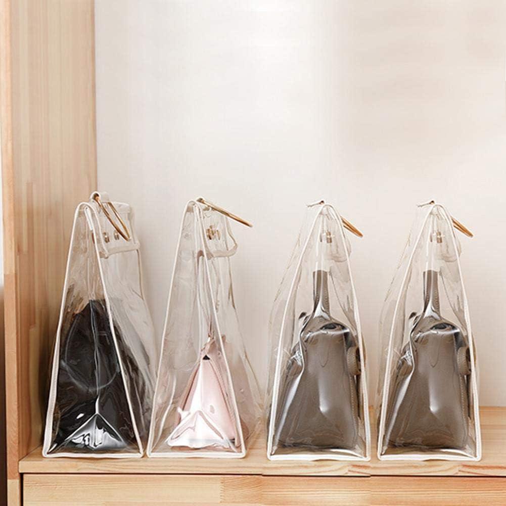 Handbag Protector Transparent Dust Proof Bag Organizer Purse Handbag Dust Cover Bags Transparent Dust Bag For Closet Cupboard Indoor