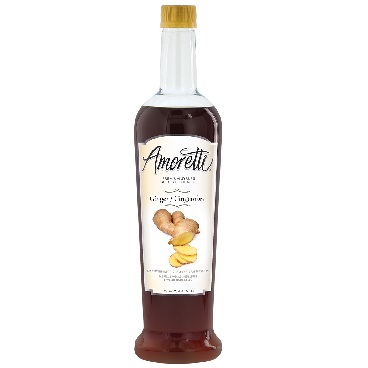 Amoretti Premium Ginger Syrup, 25.4 Fluid Ounce