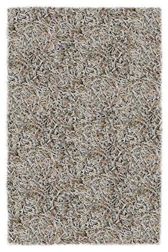 Shaw Super Shag Area Rug Bling Collection Pacific Breeze 4 Feet x 6 Feet (Collection Shaw Rugs)
