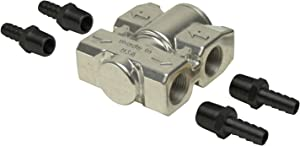 Derale 13011 Fluid Control Thermostat Kit,Silver