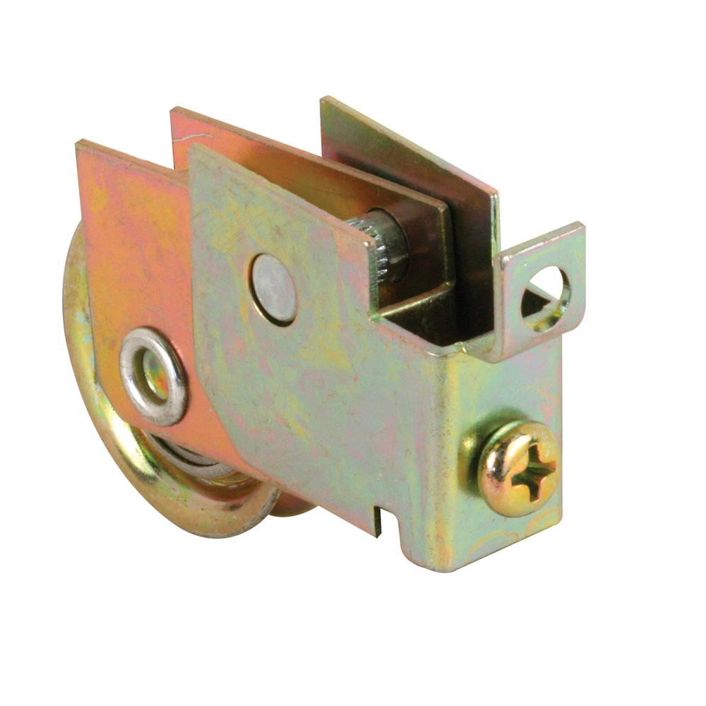 Slide-Co 13692 Sliding Door Roller Assembly with 1-1/4-Inch Steel Ball Bearing Flush Rivets