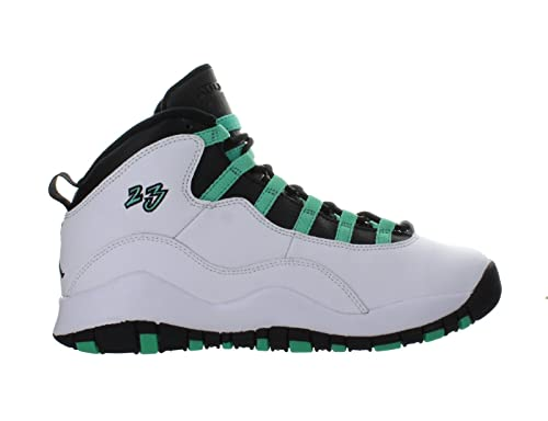 on sale 9a0ff f8acb Nike Air Jordan 10 X Retro 30th (GS) Verde White - Back - Infrared