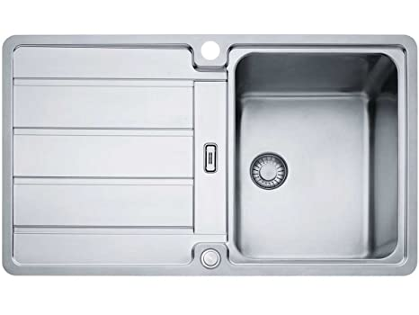 Franke hydros HDX 214 lavello acciaio inox liscio Lavello Cucina ...