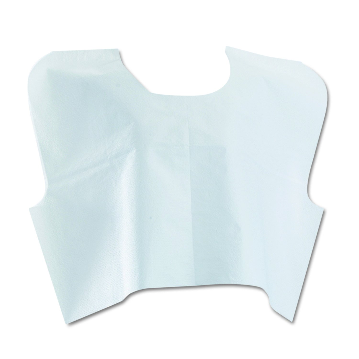 Medline NON24248 Disposable Tissue/Poly/Tissue Exam Capes, 30'' Width x 21'' Length, White (Pack of 100)