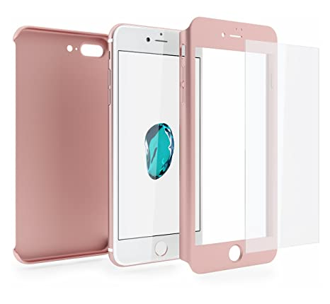 coque 360 iphone 7 plus rose