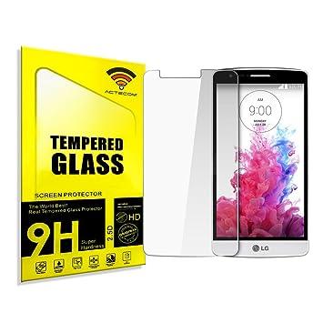 cogac ACTECOM® Cristal Templado Protector para LG G3 S Mini 0.2mm ...