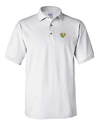 2ee96c99f Amazon.com: Polo Shirt Sport Golf Ball Tee Crest Embroidery Team ...