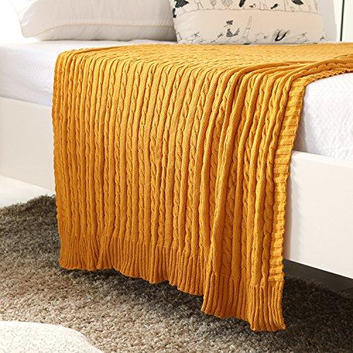 queen size blanket with silk edge - 6
