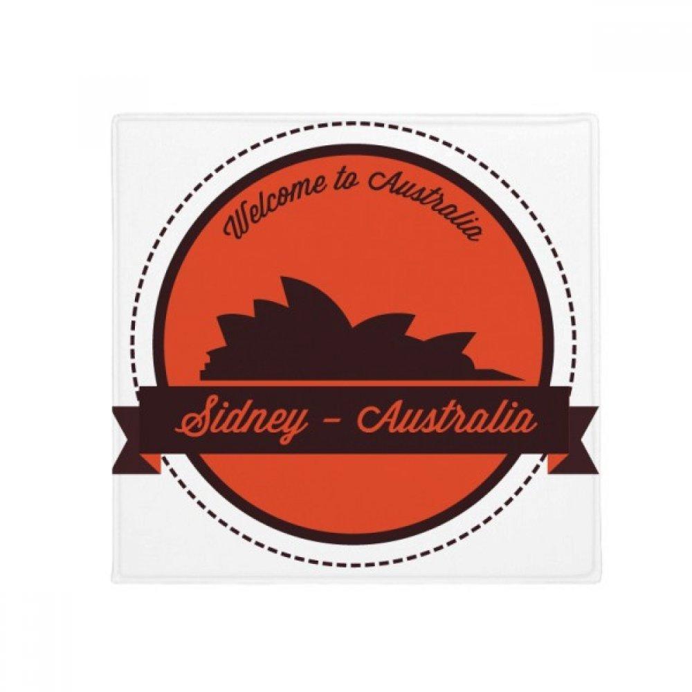 DIYthinker Australia Landmark Sydney Opera House Anti-Slip Floor Pet Mat Square Home Kitchen Door 80Cm Gift