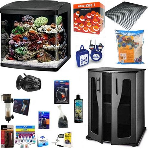 (Coralife NEW STYLE Size 32 BioCube Aquarium DELUXE COMPLETE PACKAGE (With New Improved Stand))