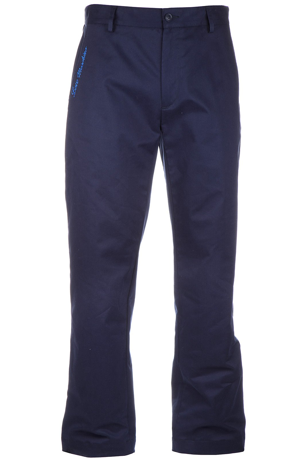 Love Moschino Men's Trousers Pants Blu US Size 48 (US 32) M P 598 01 S 2754 Y6