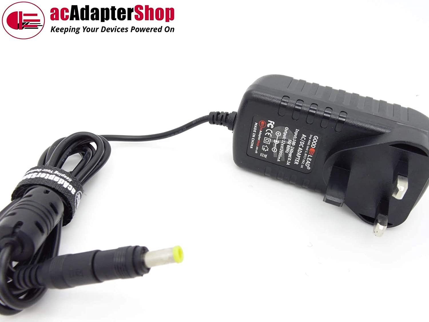 GOOD LEAD 12V 2A Mains AC-DC Adaptor Power Supply for Satellite Receiver HUMAX HB-1000S