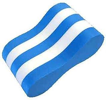 Pull Buoy pierna entrenamiento de natación ayuda flotador para adultos, azul y blanco: Amazon.es: Deportes y aire libre
