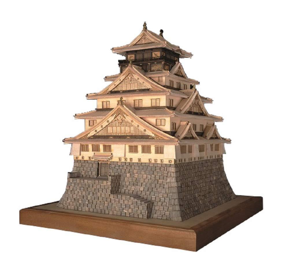 ウッディジョー 1/150 大阪城 木製模型 組立キット B002UMPI9Y