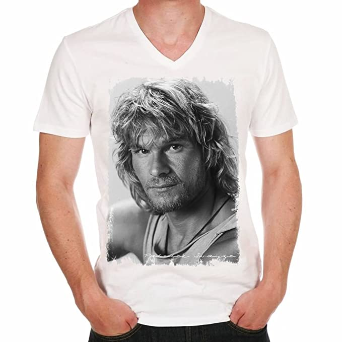One in the City Patrick Swayze: Mens T-Shirt Gift T Shirt White