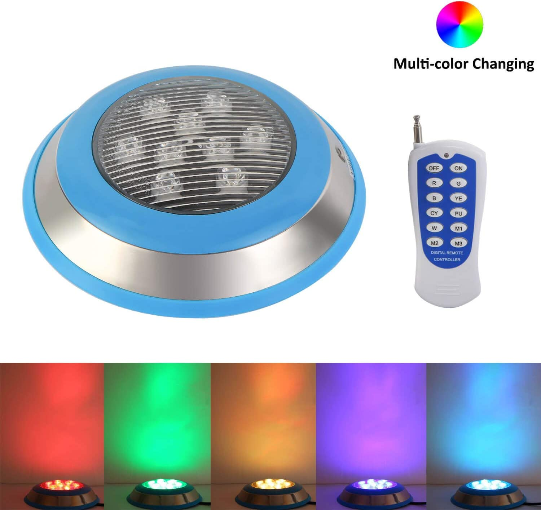 Controller USA HOT 54W RGB LED Swimming Pool Lights Underwater Waterproof Lamp