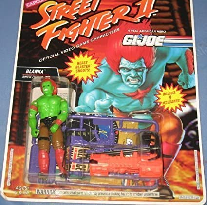 GI Joe Street Fighter II 3 Blanka Jungle Fighter 3 3/4