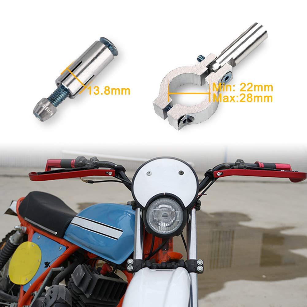 Triclicks Motorcycle Handguard Aluminum Universal 7//8 22mm Handlebar Hand Brush Guards For Honda Kawasaki Suzuki Yamaha KTM Motocross Dirt Bike ATV Off Road Red