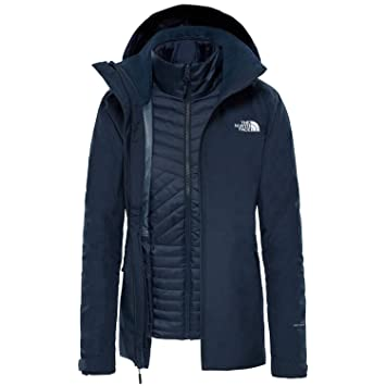 The North Face Inlux Tri W Chaqueta de Doble Capa Navy
