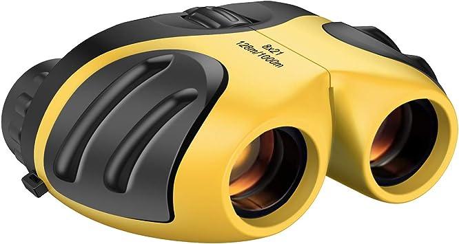 Binoculars for Kids 10x22 Compact Shock-Proof High-Resolution 3-12 years old
