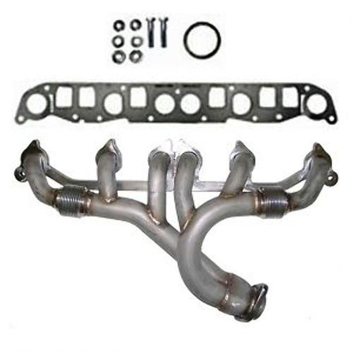 Amazon.com: 91-99 Jeep Wrangler 4.0L Exhaust Manifold & Gaskets: Automotive