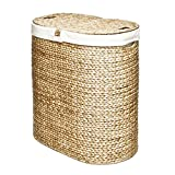 Water Hyacinth Oval Double Hamper