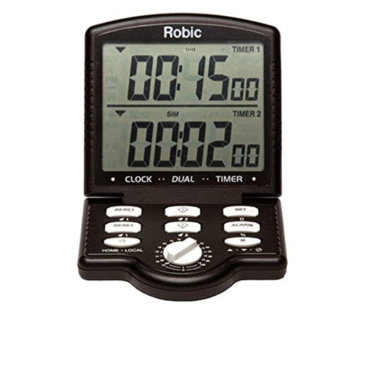 Robic M803 Big Game Dual temporizador - M803-78997, Negro ...