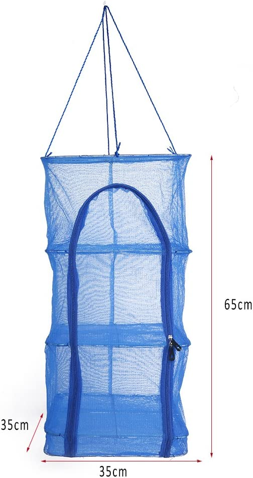 Air Dry Drying Net  Vegetable Dehydrator Fruit Meat Fishing Jerky Food Beef Fish