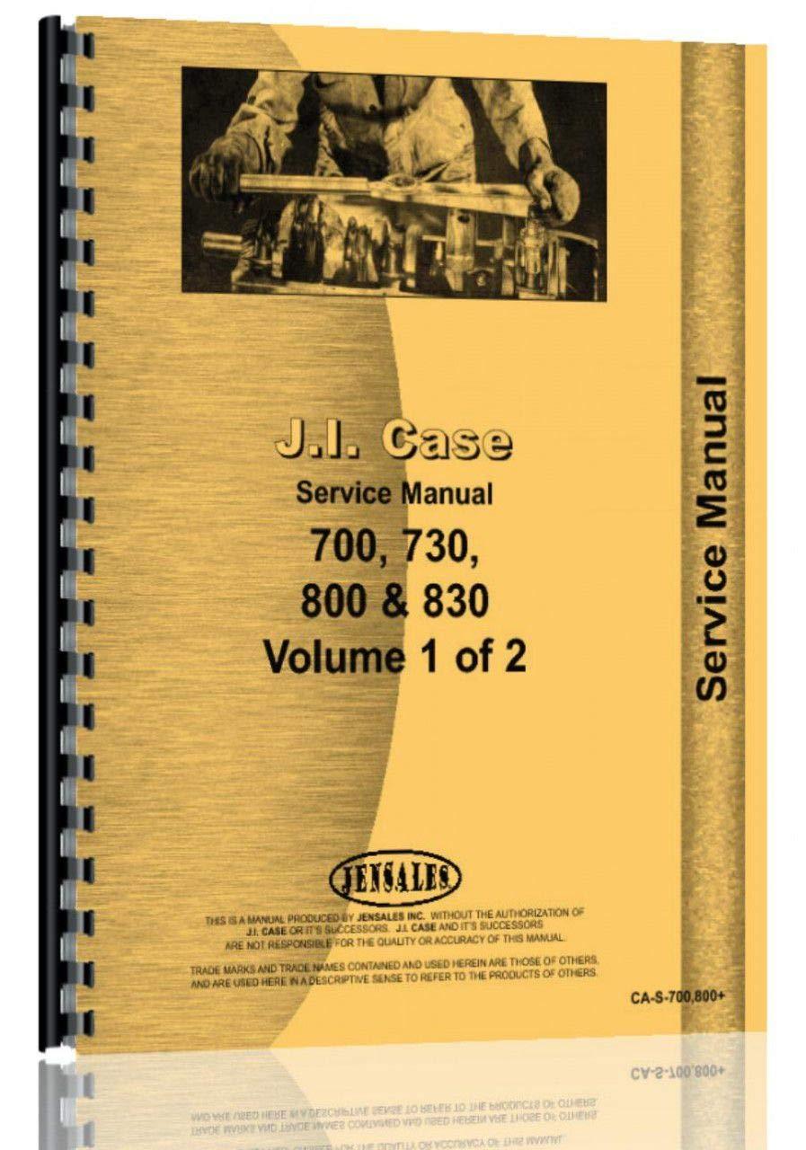 Download Case 800 Tractor Service Manual pdf