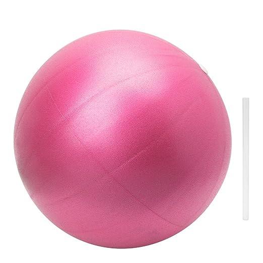 sitonelectic - Balón de Yoga (25 cm), diseño de Pelota de Pilates, Rosa