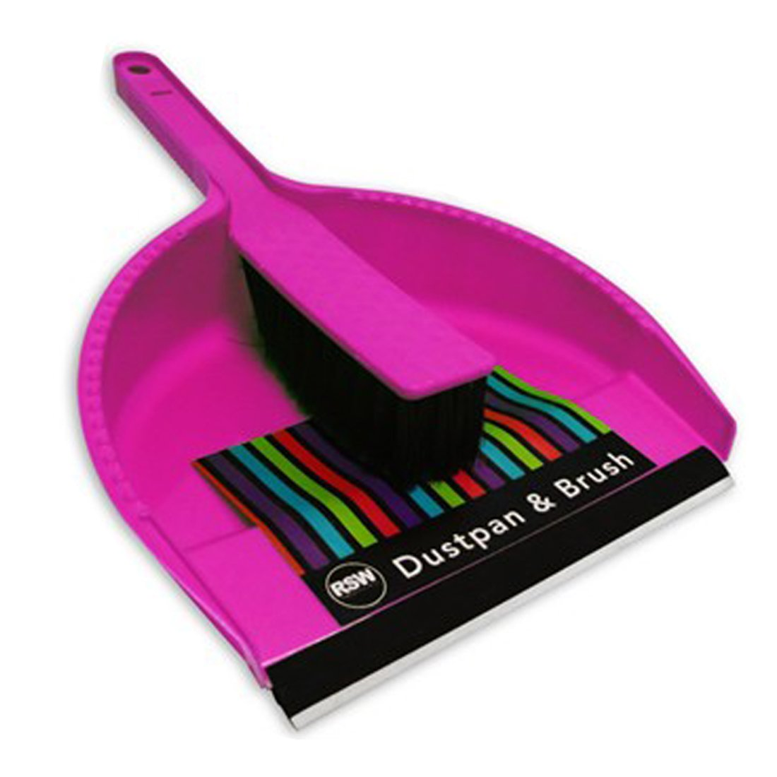 """""""Brights"""" Handheld Dustpan & Brush Set for Cleaning, Sweeping & Tidying RSW"""