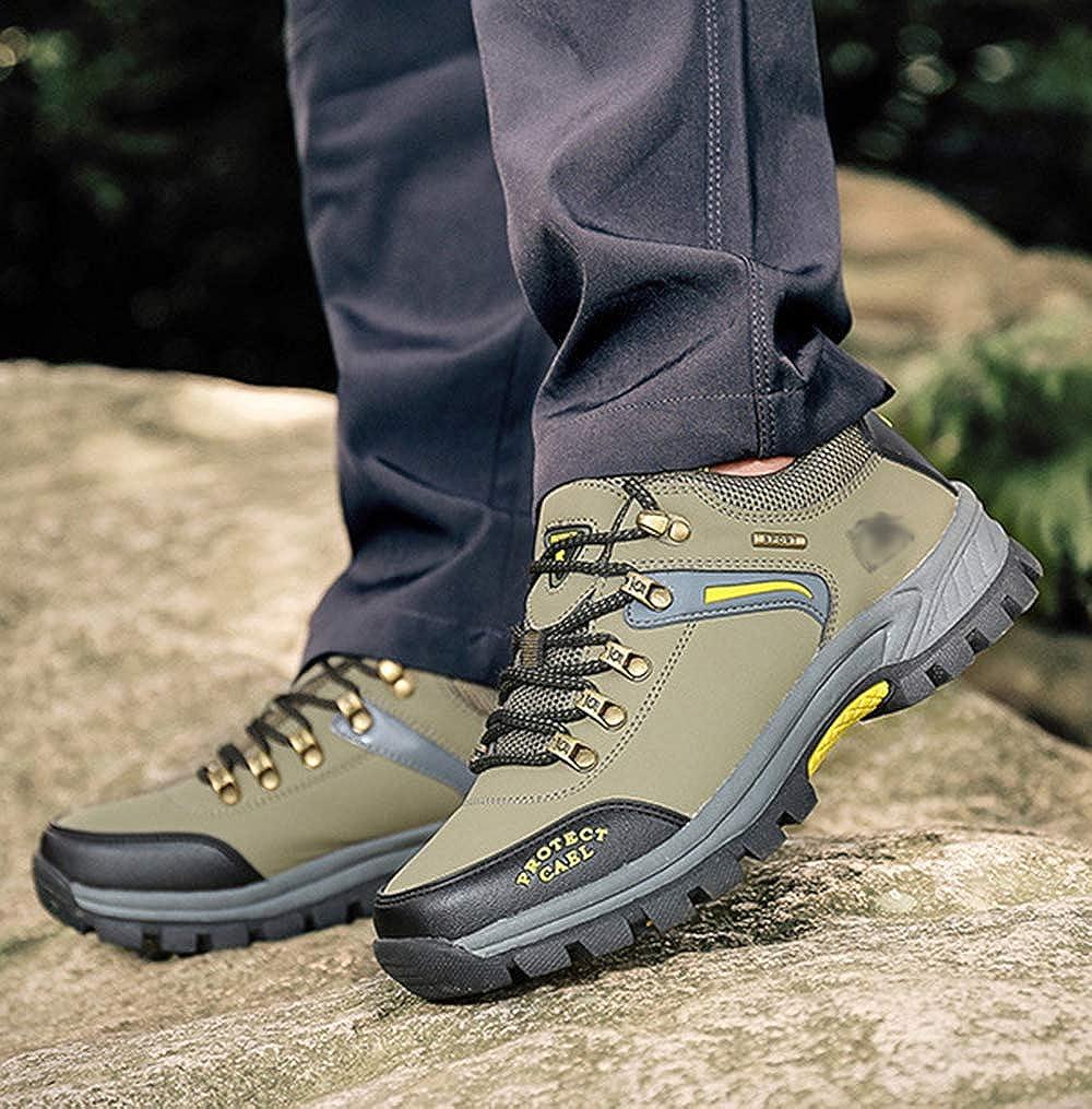 Leder Schuhes Leder Leder Schuhes Männer Wanderschuhe Stiefel Leder Leder Wanderschuhe Turnschuhe Für Outdoor Trekking Training Beiläufige Arbeit 26 f136f1