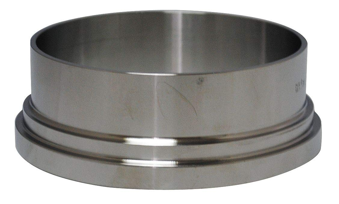 Vne T304 Stainless Steel Long Ferrule, Bevel Seat Connection Type, 4'' Tube Size - 14A4.0