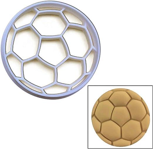 Balón de fútbol molde para galletas (tamaño grande), 1 pc, ideal ...