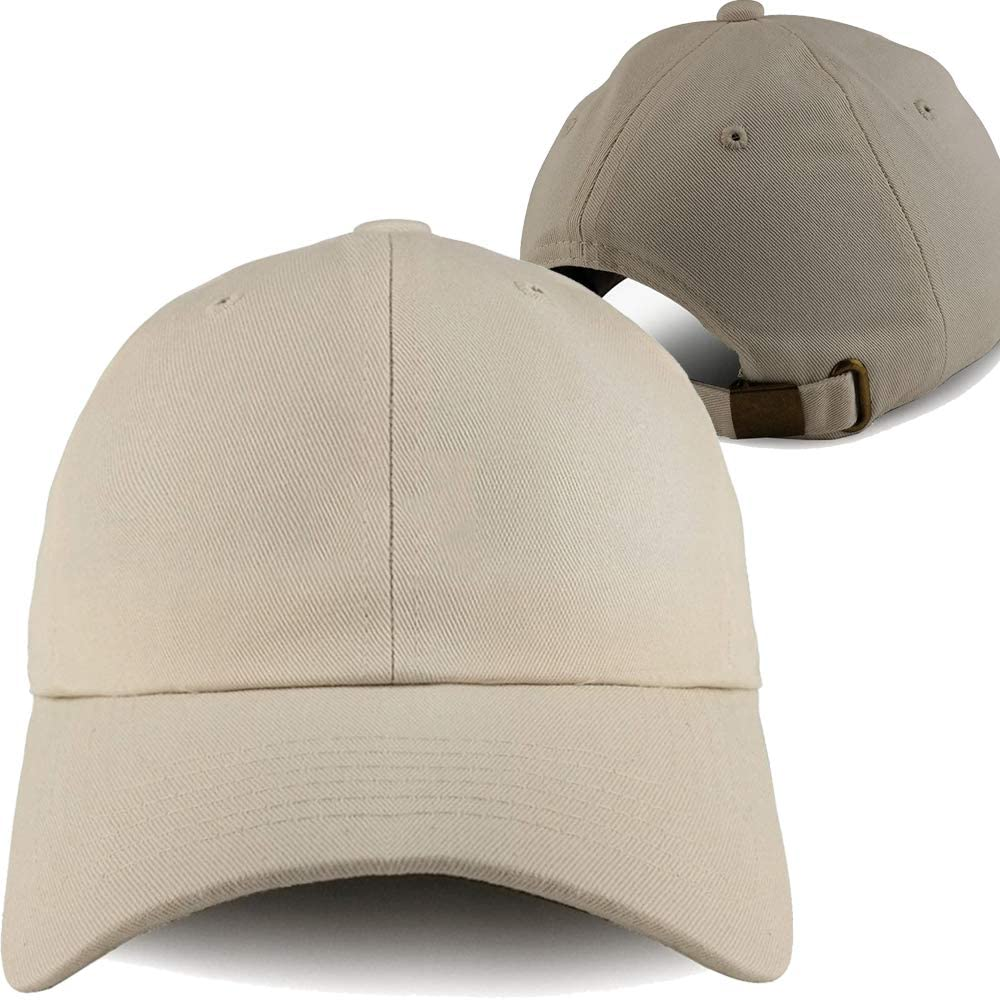 Sand Baseball Hats for Men 2 PC Pack Cap Embroidery Snapback Hat Funny No Lightning