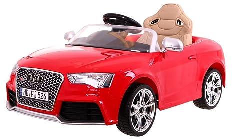 BSD Coche Electrico para Niños Auto Alimentado con Batería Vehículo Eléctrico Control Remoto - Audi RS5