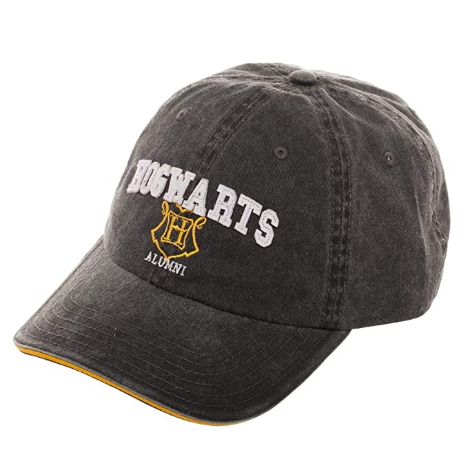 7ea196bb Image Unavailable. Image not available for. Color: Harry Potter Hogwarts  Alumni Adjustable Hat ...