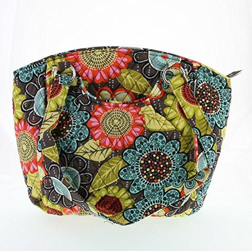 Vera Bradley Glenna Handbag in Flower Shower