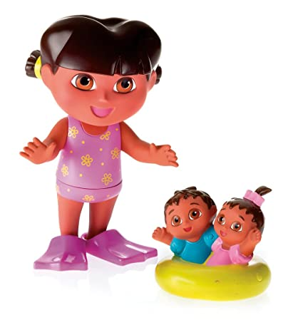 67d1ae69e37c9 Image Unavailable. Image not available for. Color: Fisher-Price Splash  Around Dora ...