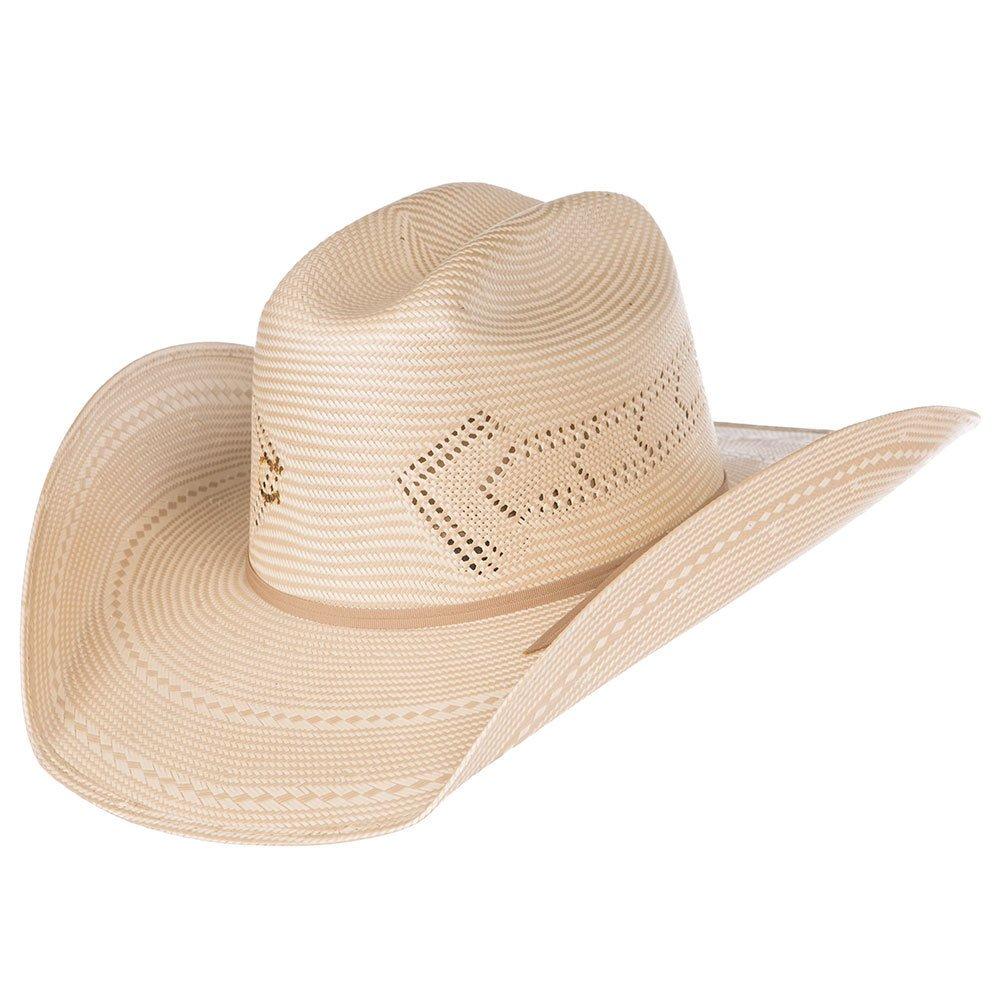 Charlie 1 Horse Hats Mens 10X Good Direction 4 1//4 Brim Straw Hat