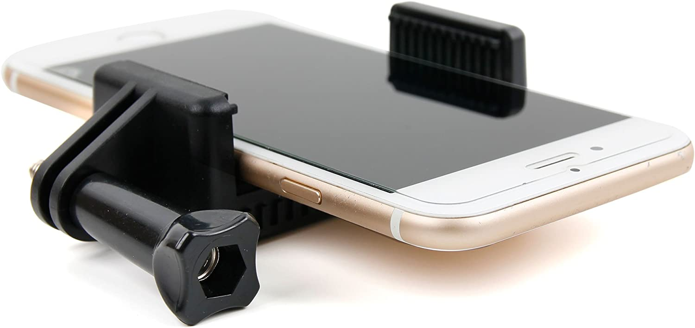 DURAGADGET Arnés Ajustable para Pecho para Smartphone + Adaptador ...